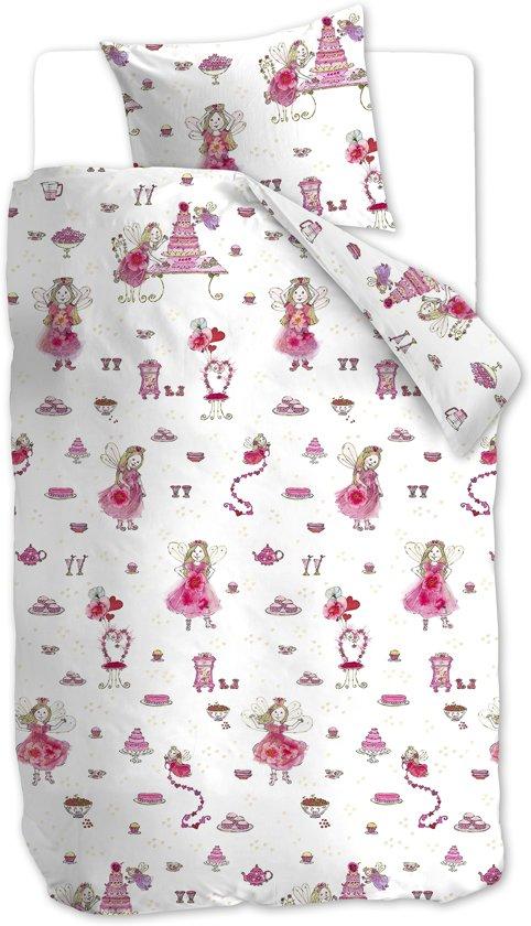 Beddinghouse Kids Birthday - kinderdekbedovertrek - Eenpersoons - 140x200/220 cm - Roze