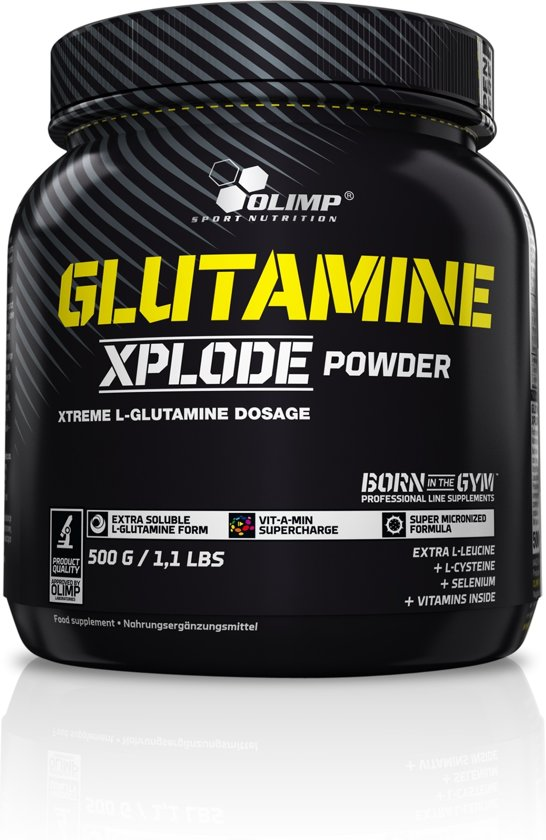 Glutamine Xplode 500gr Orange