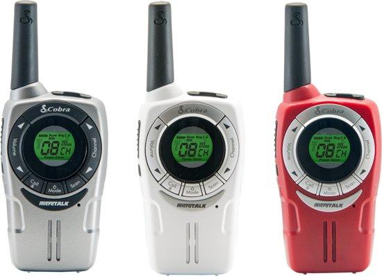 Cobra SM 660 3-pack Walkie Talkie met meer dan 10km bereik en 968 kanaal combinaties