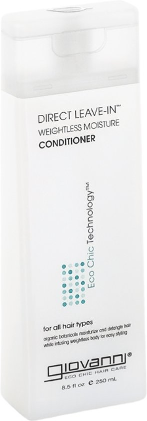 Giovanni Cosmetics - Direct Leave-In Weightless Moisture Conditioner 250 ml.