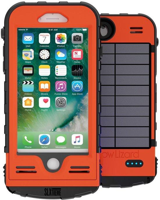 Snow Lizard SLXtreme iPhone 7 of 8 batterij hoes Signal Orange in Papenhoven