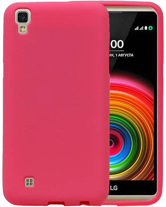 LG X Style K200 Roze | Sand Look TPU Hoesje  | WN™