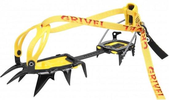 Grivel G12  stijgijzers New-Matic geel/grijs