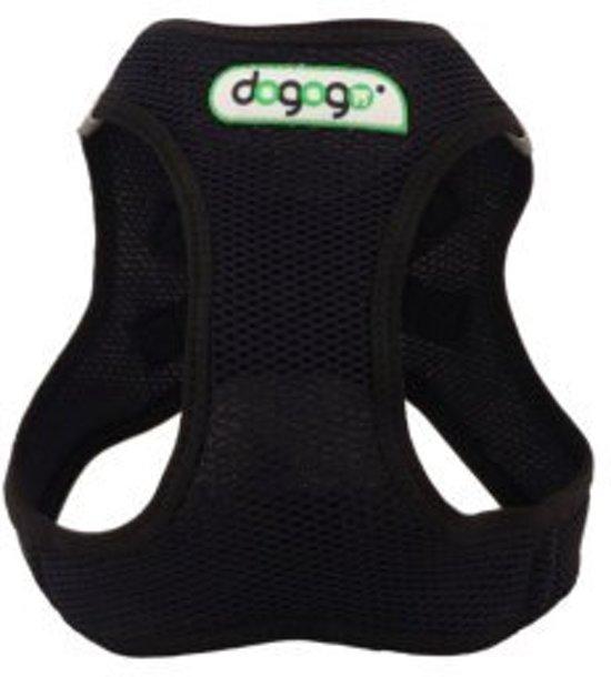 Dogogo Air Mesh tuig, zwart, maat S