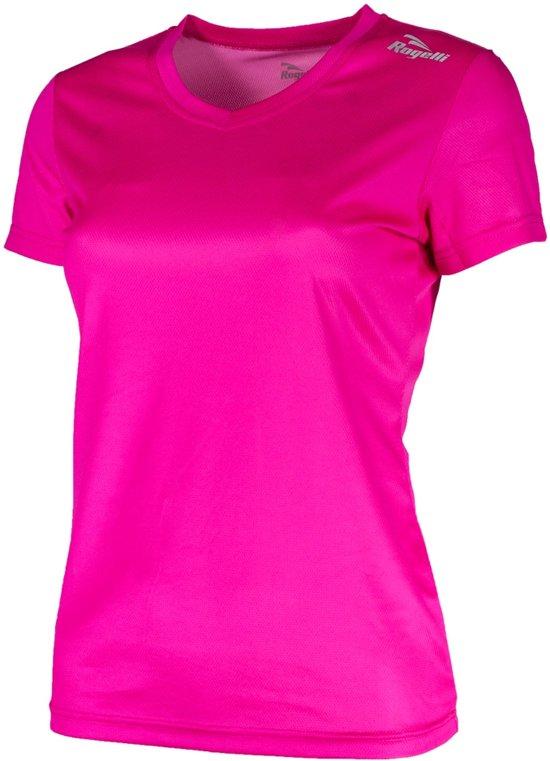 Rogelli Promo Running  Sportshirt - Maat M  - Vrouwen - roze