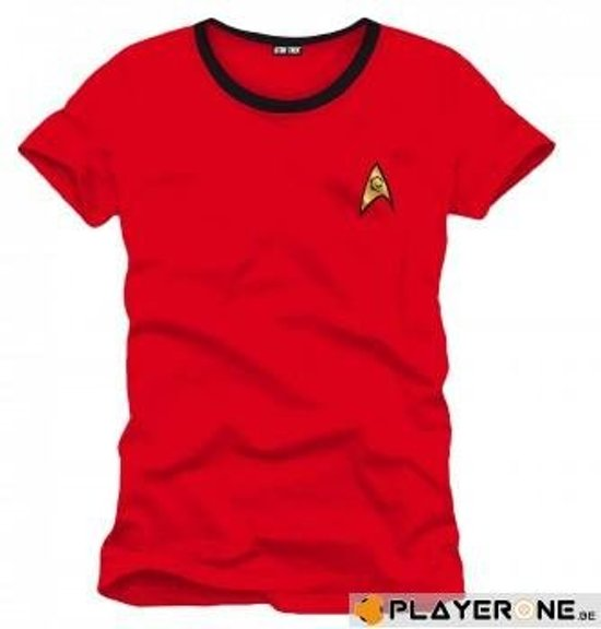 STAR TREK - T-Shirt Red Scotty Uniform (M)