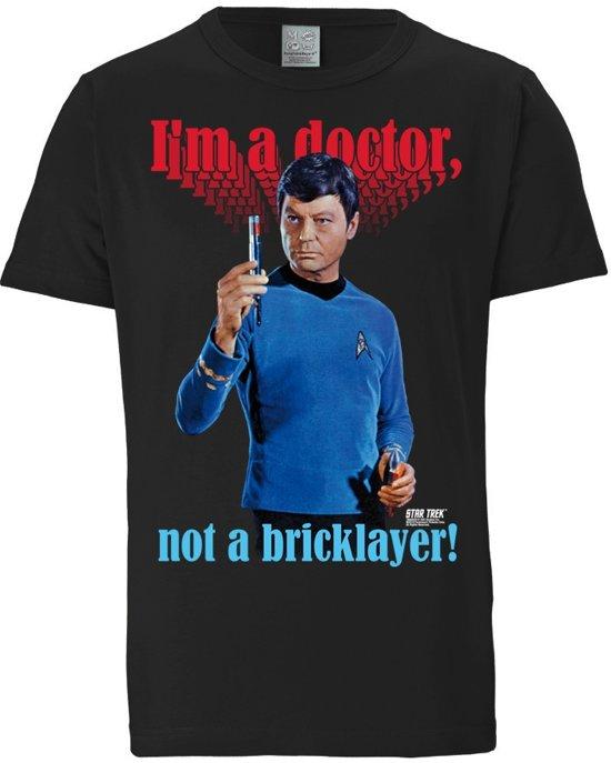 Logoshirt T-Shirt I'm A Doctor Not A Bricklayer Doktor McCoy