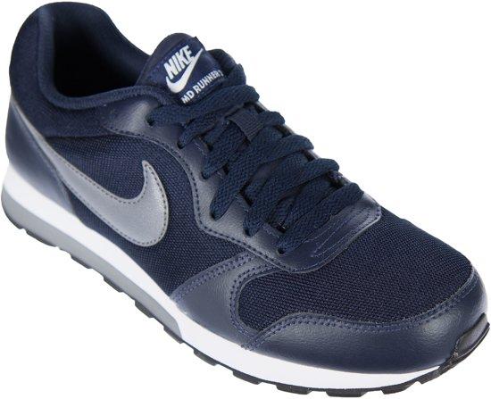8514b2ac338 bol.com | Nike MD Runner 2 Sportschoenen - Maat 38 - Unisex - blauw ...