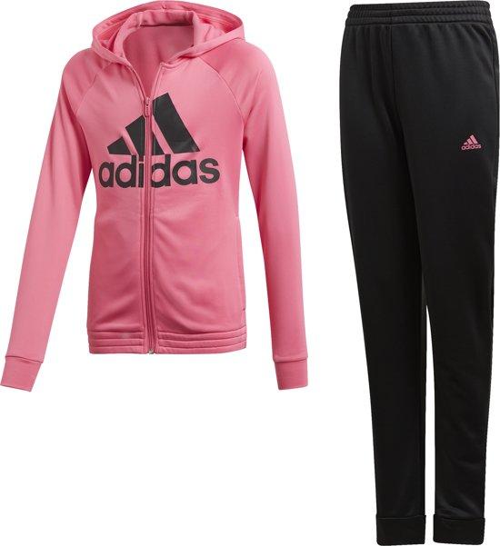 officiële site replica's lage prijs verkoop bol.com | adidas - TRAININGSPAK MET CAPUCHON - Meisjes