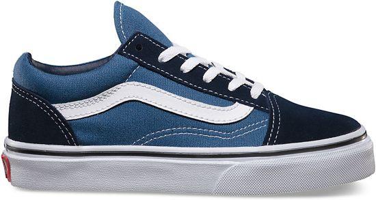 899742a0b7 Vans Old Skool - Sneakers - Kinderen - Navy Wit - Maat 35