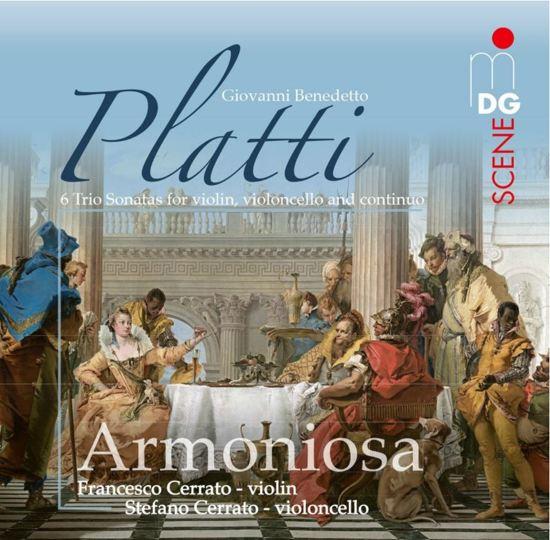 Platti: 6 Trio Sonatas for Violin, Violoncello and Continuo