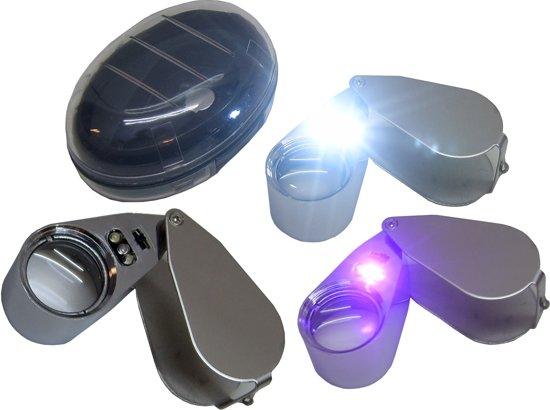 bol.com | Loupe 40X Vergrootglas Vergrootglas Sieraden Juweliers ...