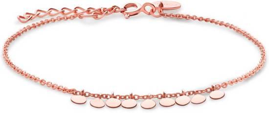 Rosefield - Baxter Dames Armband | Rosé goud | 18k rosé gouden plating | Bracelet