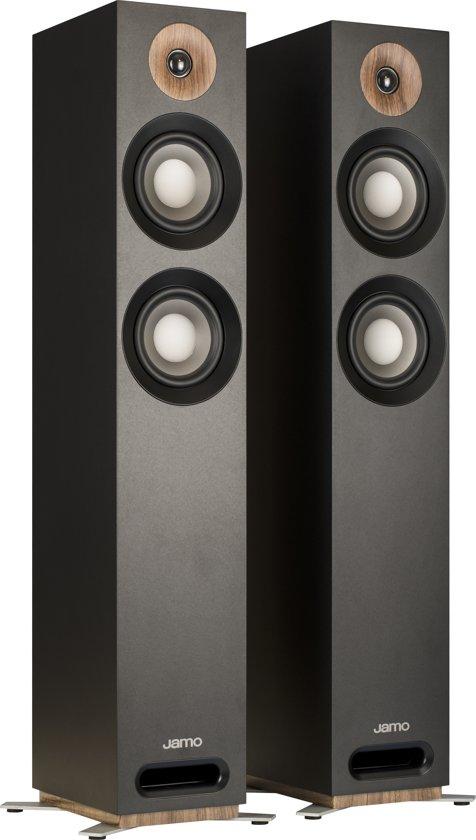 Jamo S 807 Vloerstaande luidspreker Zwart (per paar)