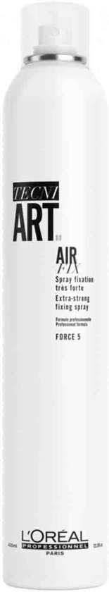L'oreal Tecni Art Air Fix Extra-Strong Fixing Spray Force5 400 ml