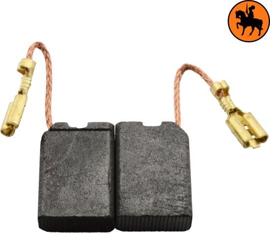 Koolborstelset voor Black & Decker PL12EA - 6,3x14x20mm