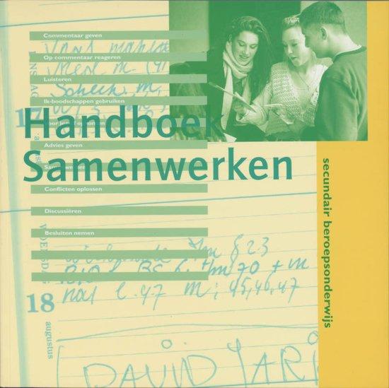 Handboek samenwerken secondair beroepsonderwijs