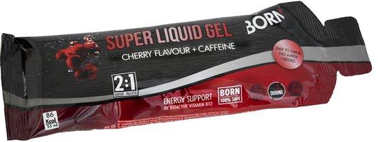 12x Born Super Liquid Gel - Cherry caffeine (55ml)