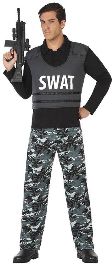 Verkleedkleding voor volwassenen - SWAT Officer - Maat XL