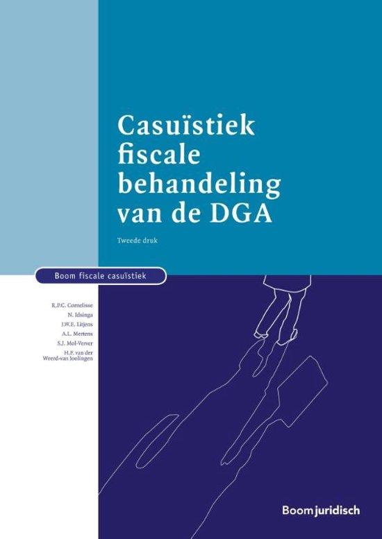 Boom fiscale studieboeken Casuïstiek fiscale behandeling van de DGA
