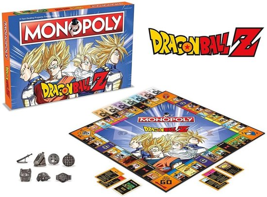 Monopoly Dragon Ball Z - Engelstalig Bordspel