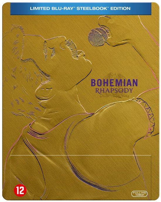 DVD cover van Uitverkocht : Bohemian Rhapsody (Blu-ray Steelbook) (Limited Edition) (Exclusief bij bol.com)