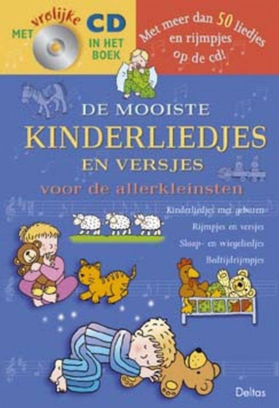 Cover van het boek 'De mooiste kinderliedjes en versjes voor de allerkleinsten + CD' van  Onbekend