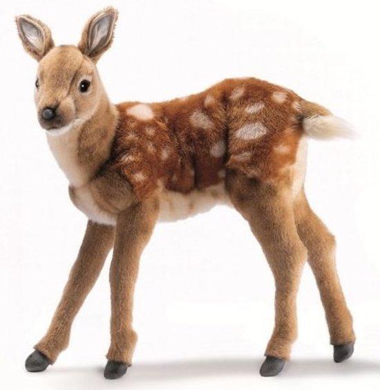 Pluche hert knuffel 36 cm