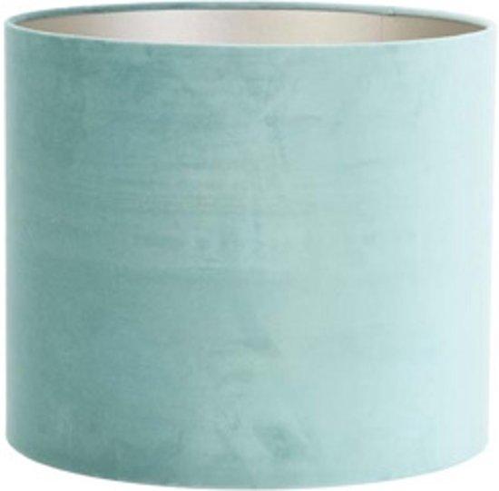 Light & Living Kap cilinder VELOURS  35-35-30 cm  -  ocean