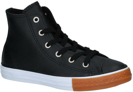 48981b774bc bol.com | Hoge Geklede Sneakers Zwart Converse Chuck Taylor All Star ...