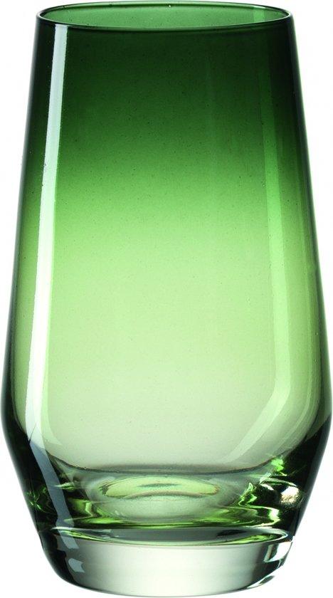 Leonardo Puccini - Longdrinkglas - groen - 6 stuks