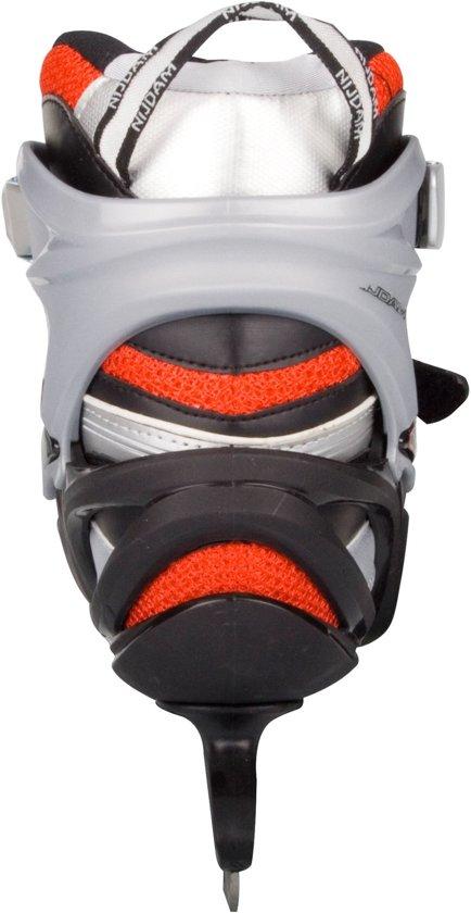 Nijdam 3380 IJshockeyschaats Pro-Line - Semi-Softboot - Zwart - Maat 41