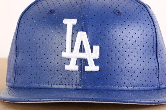 New Era Ao Leather Perf LA Dodgers
