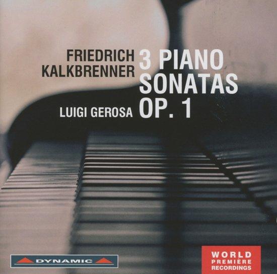 Three Piano Sonatas Op. 1