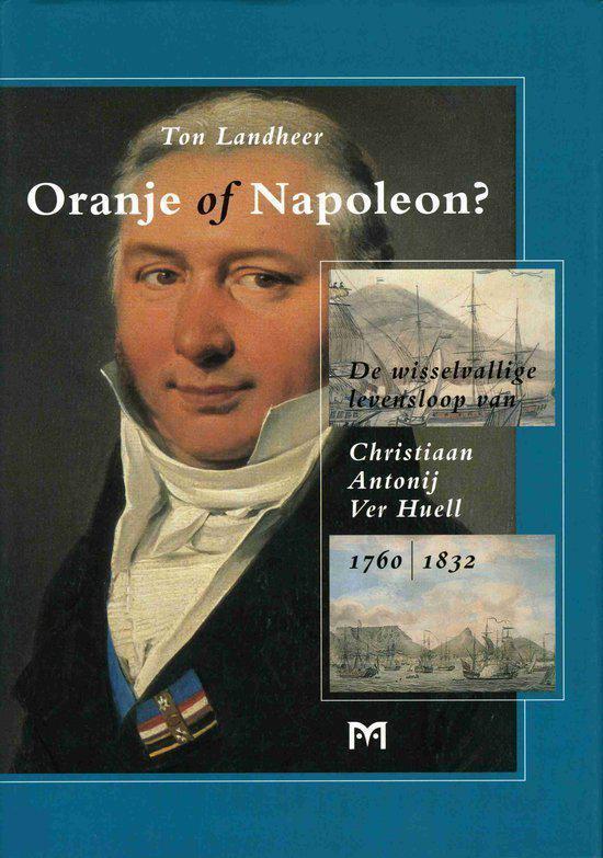 Boek cover Oranje Of Napoleon? van Ton Landheer (Hardcover)