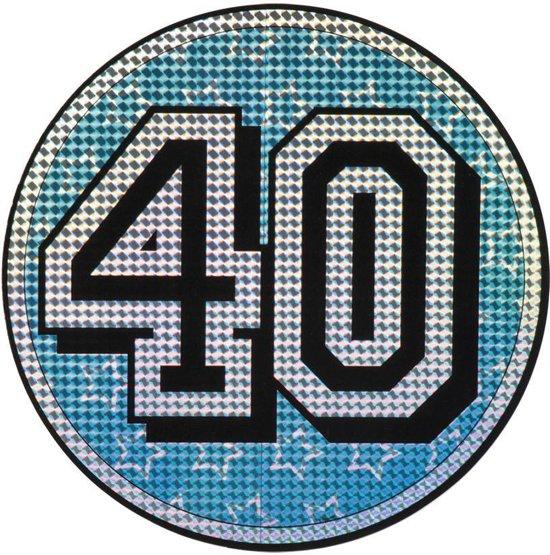 St. Holografische decoratie 40 (30 cm)