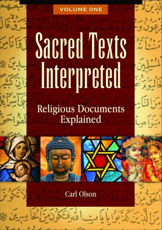Bol sacred texts interpreted religious documents explained 2 lees de eerste paginas fandeluxe Images