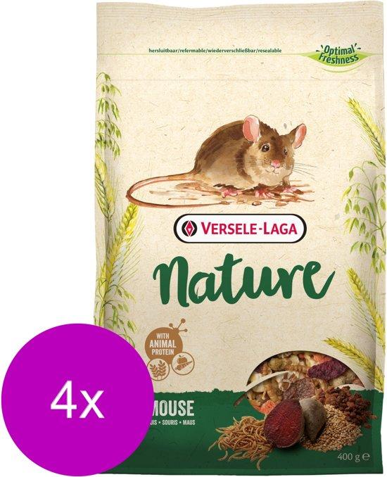 Versele-Laga Nature Mouse - Muizenvoer - 4 x 400 g