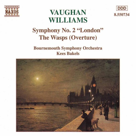 Vaughan-Williams: Symphony No 2, The Wasps Overture / Bakels