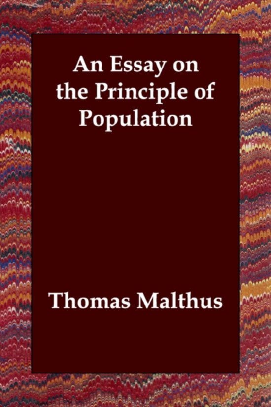 an essay on the principle of population thesis