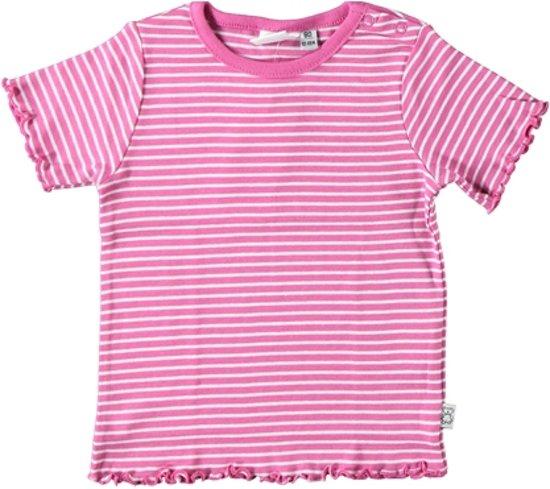 Blue Seven Meisjes T-shirt - Roze - Maat 80