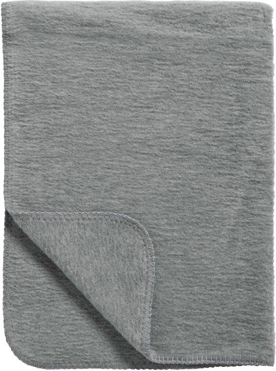 Meyco Uni - Ledikantdeken 100x150 cm - Antraciet