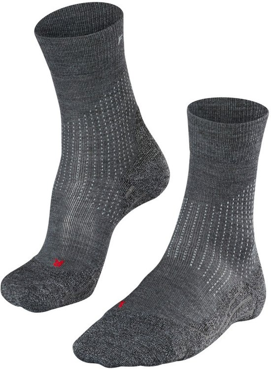 Falke Sok 1624744 Stabilizing Compressie Grijs Wool Heren 45 WD2YEH9eI