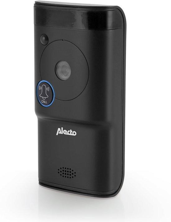 Alecto DVC-1000 Wifi deurbel met camera| Monitor je deurbel wereldwijd met gratis app | Antraciet
