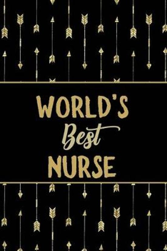 World's Best Nurse: Minimalist Novelty Gift for Women Blank Lined Journal Perfect Notebook for Journaling, Notes, Writing & More