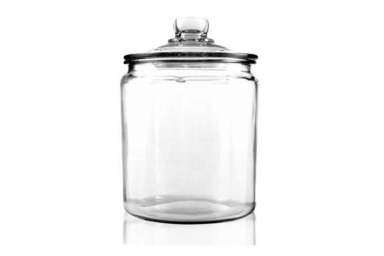 Voorraadbus glas