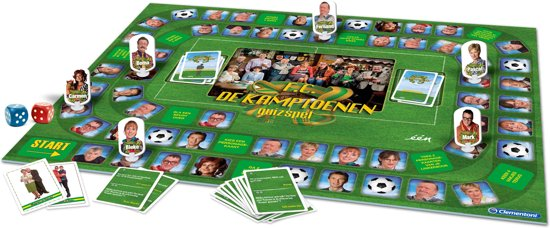 Quizspel FC de Kampioenen Clementoni