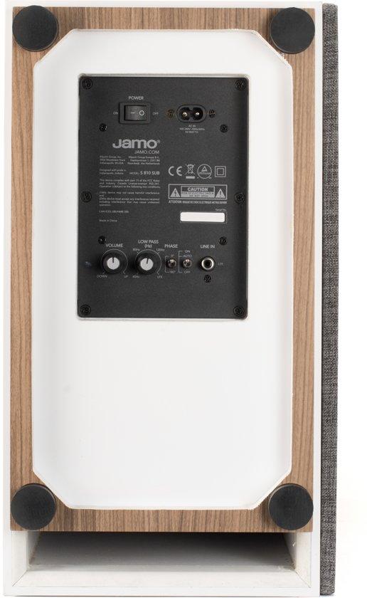 Jamo S 810 Subwoofer Wit