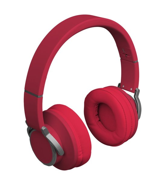 MEDION® LIFE® E62113 Bluetooth Stereo Headset met FM (rood)