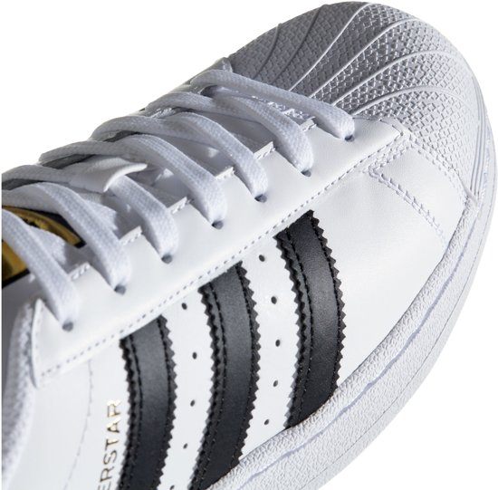 Wit Sneakers goud 40 zwart Adidas Foundation Maat Unisex Superstar qYTAI